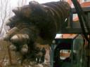 Ямобур по мёрзлому грунту CAT A19