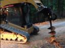 Гусеничный ямобур CAT A19