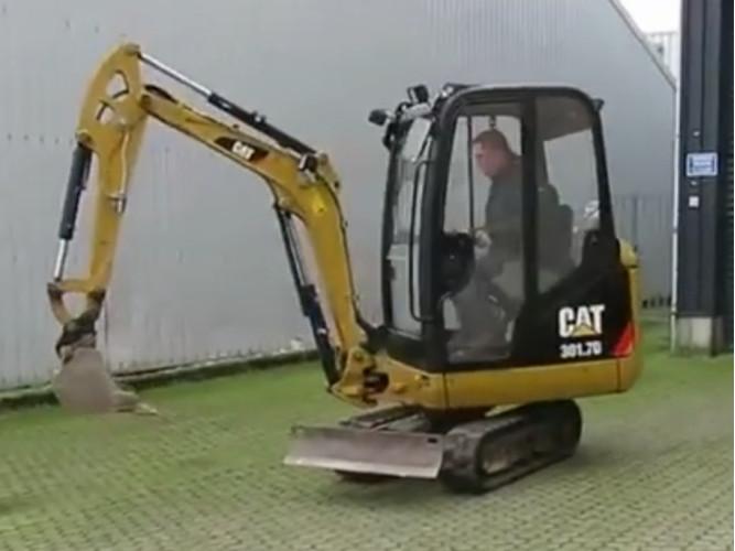 Мини-экскаватор Caterpillar 301.7D