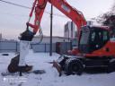 Гидромолот на колёсный  экскаватор DOOSAN 140W-3