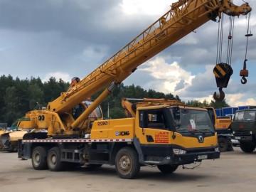 Аренда Автокран XCMG 25 т 38 м