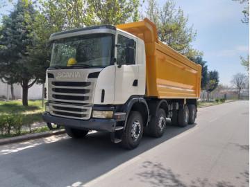 Аренда Самосвал Scania 40 т