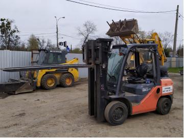 Аренда Вилковий навантажувач Toyota 02-8FGF30